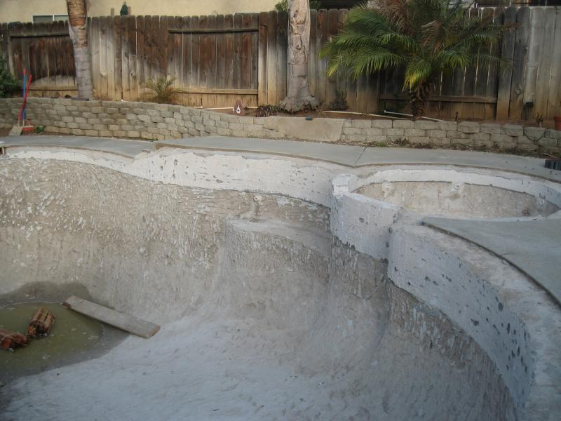 Trinity Custom Pools New Pool Tile Coping And 3m Plaster